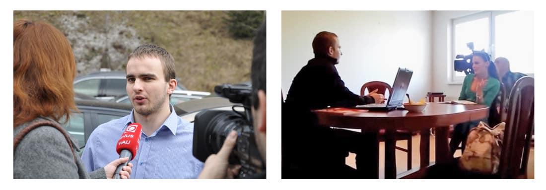 Martin Hlinka v médiách a v TV