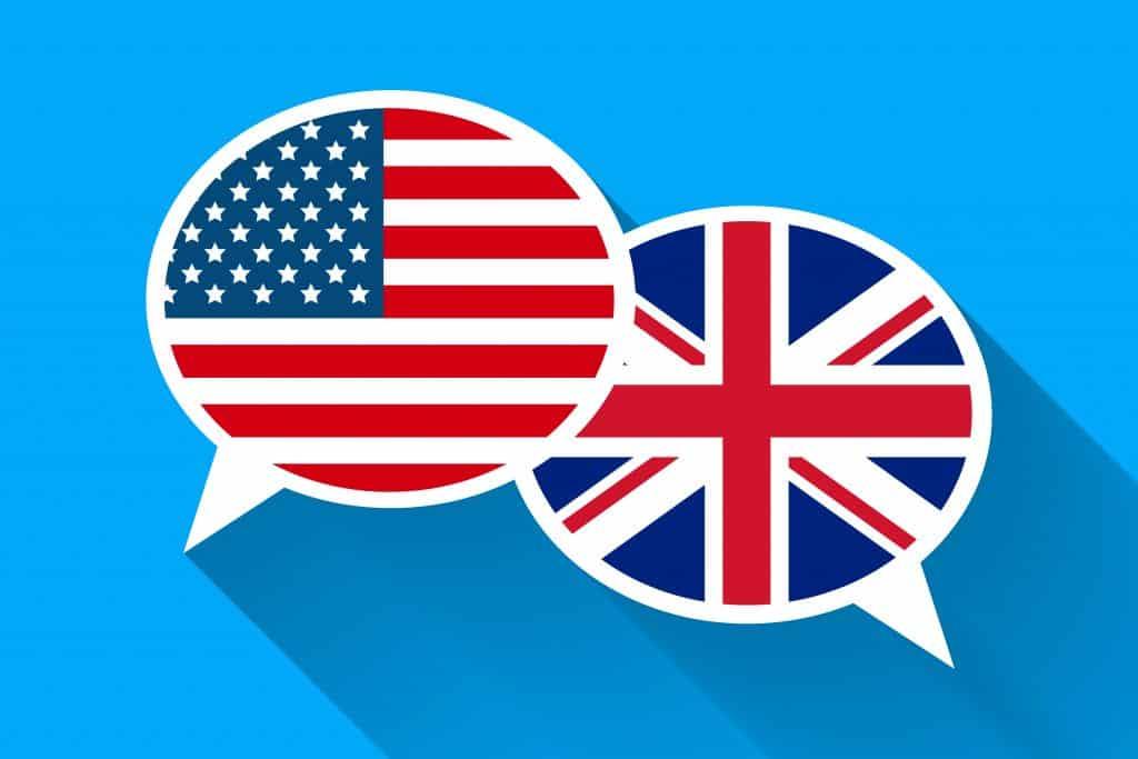 Anglická gramatika: Britská a americká angličtina
