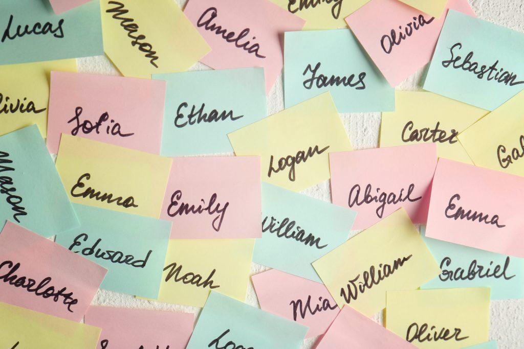 Anglické dievčenské mená zoznam